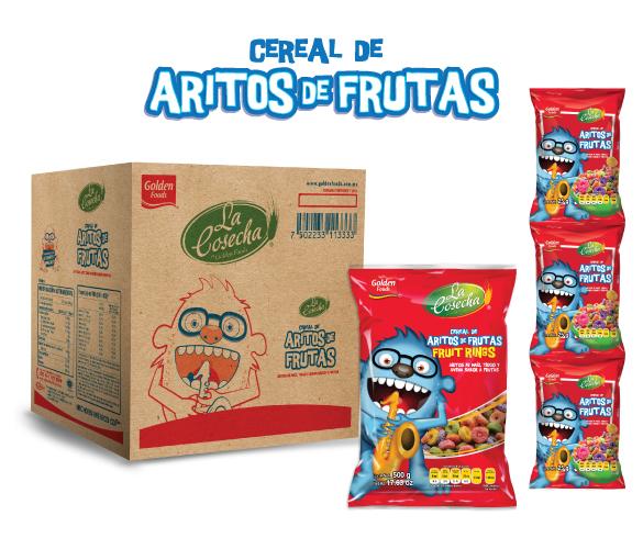 Aritos sabor a Frutas